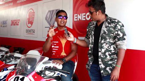 Racer Sarath Kumar