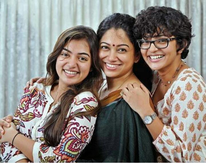 Nazriya Nazim, Anjali Menon, Parvathy