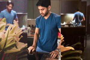 Nagachaitanya cooking for sam