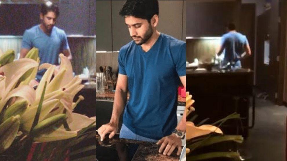 Nagachaitanya cooking for sam