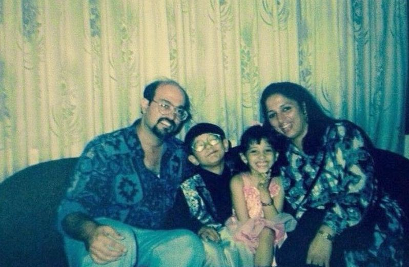 Tamannaah childhood photo
