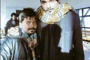 Vijay sethupathi-Junga shoot