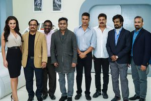 Rajinikanth starrer 2.0 movie team