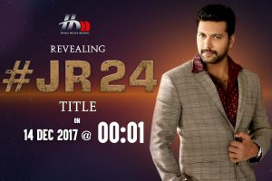 The title of Jayam Ravi's 24th film directed by Karthik Thangavel to be announced.