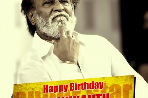 Rajinikanth celebrates his 67th birthday.