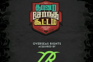 The overseas rights of Suriya's Thaana Serndha Koottam has been bagged by TSR films.