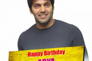 Actor Arya Birthday