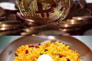 Bitcoin for biriyani
