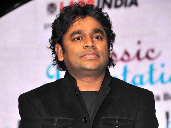 A.R.Rahman at 57th FF Awards
