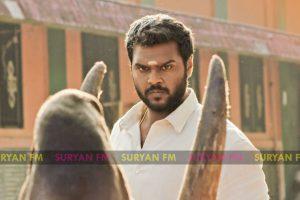 Shanmugapandian, Meenakshi starrer Maduraveeran.
