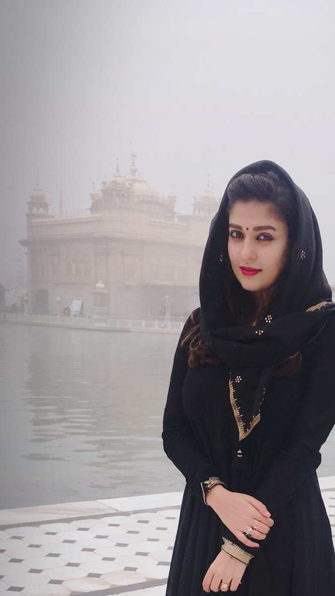 Nayanthara at Golden Temple, Amritsar