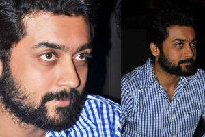 Suriya's new bearded look.