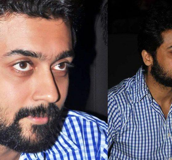 Suriya's new bearded look.