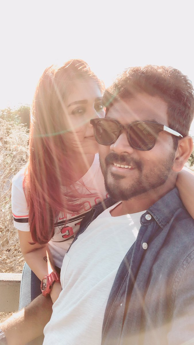 Vignesh Shivn and Nayanthara latest still.