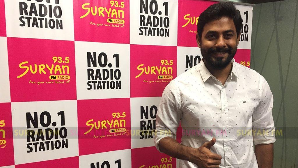 Aari at Nagesh Thiraiyarangam audio launch.