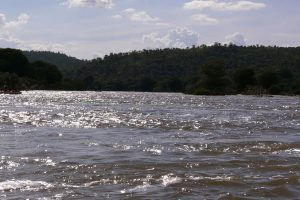 Cauvery river in full flow, in Karnataka. Courtesy: Wikimedia Commons