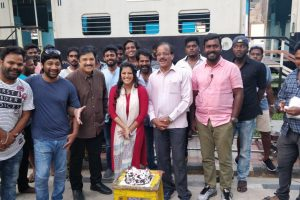 Varalaxmi Sarathkumar completes shooting for Mr. Chandramouli.