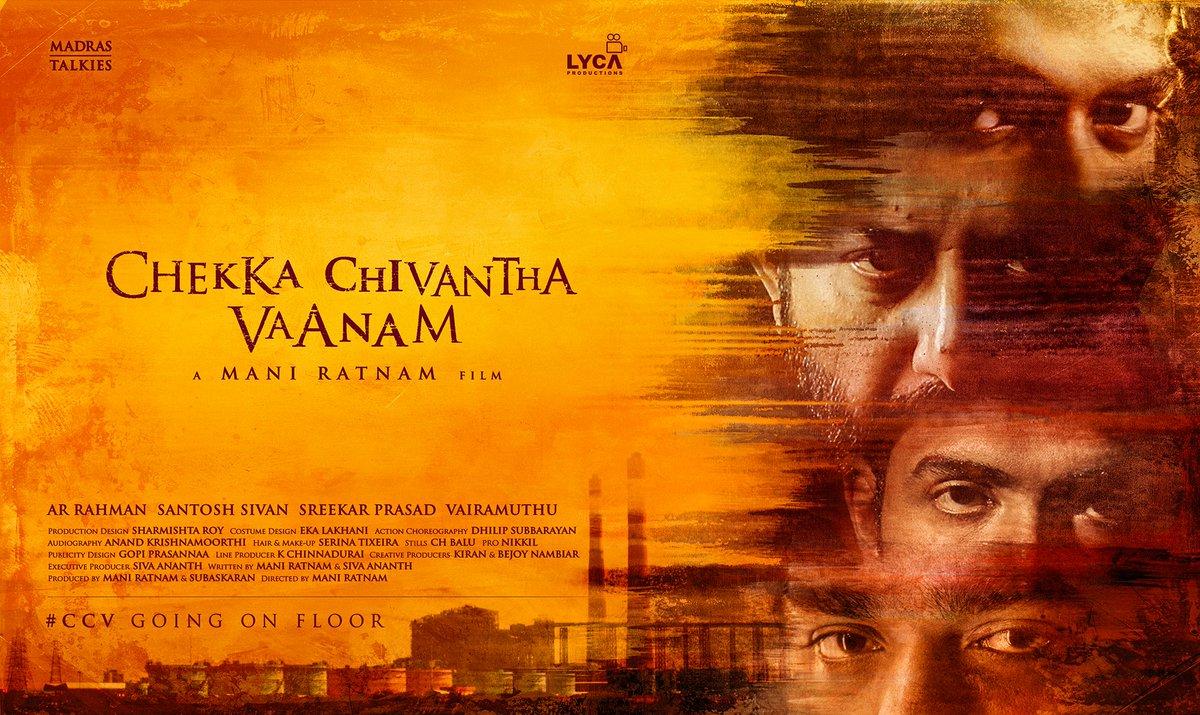 Chekka Chivantha Vaanam first look.