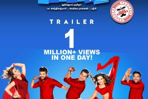 Kalakalappu 2 trailer hits 1 million views!
