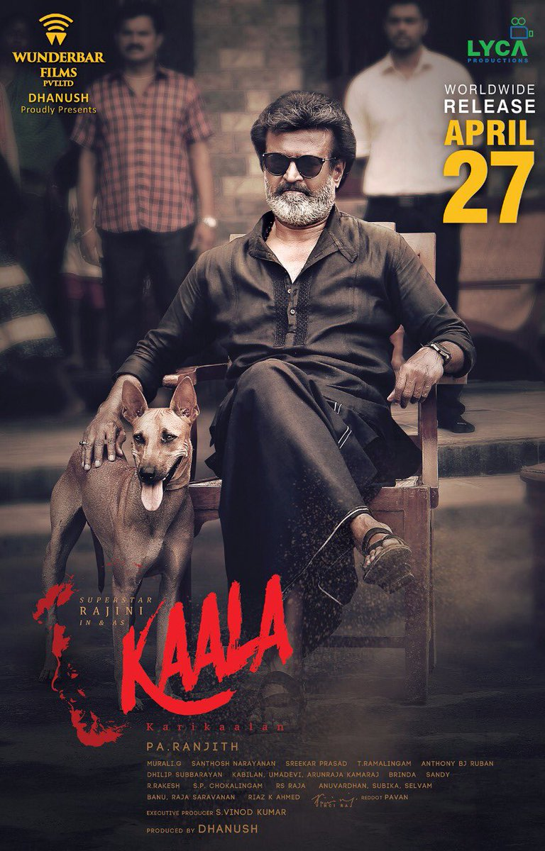 Rajinikanth's Kaala releases on April 27