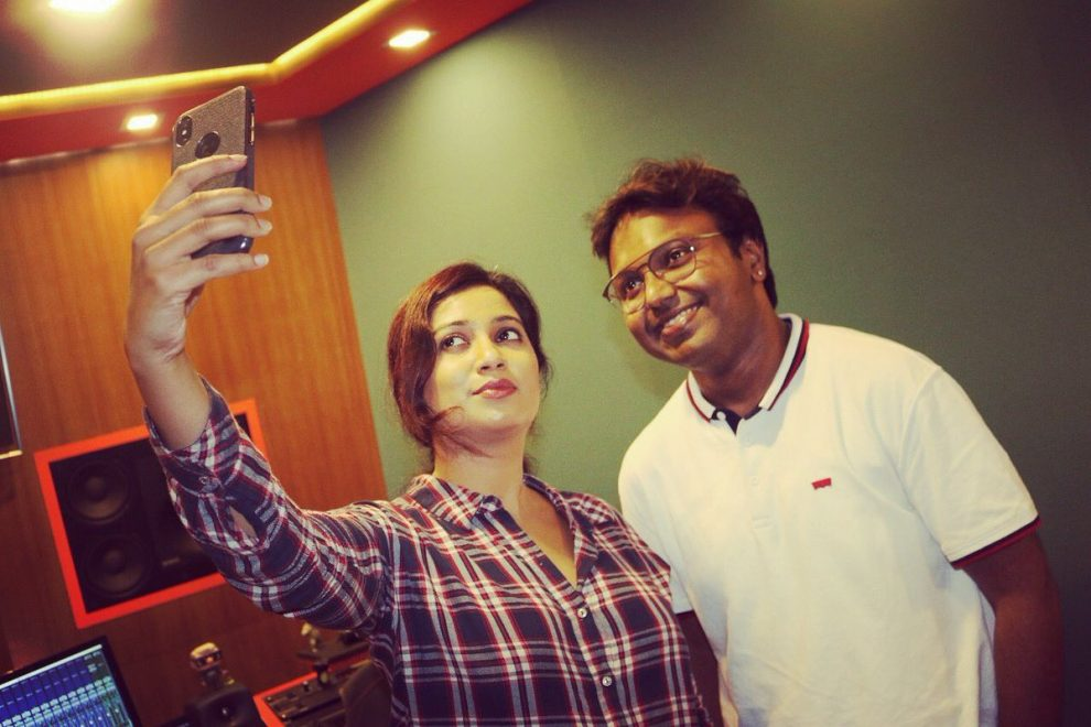 D. Imman and Shreya Goshal join hands for Seema Raja