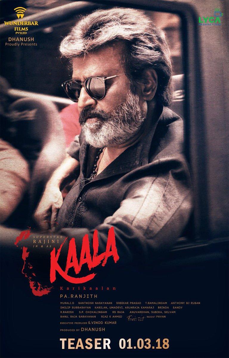 Rajinikanth's Kaala teaser is out!
