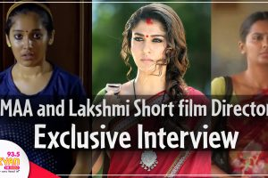 EXCLUSIVE interview with MAA, Lakshmi short film director Sarjun