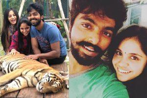 GV Prakash Family