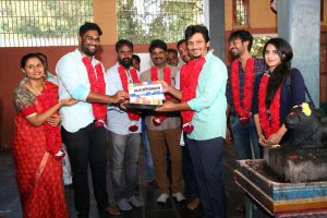 Jiiva, Shalini Pandey starrer Gorilla movie launched.