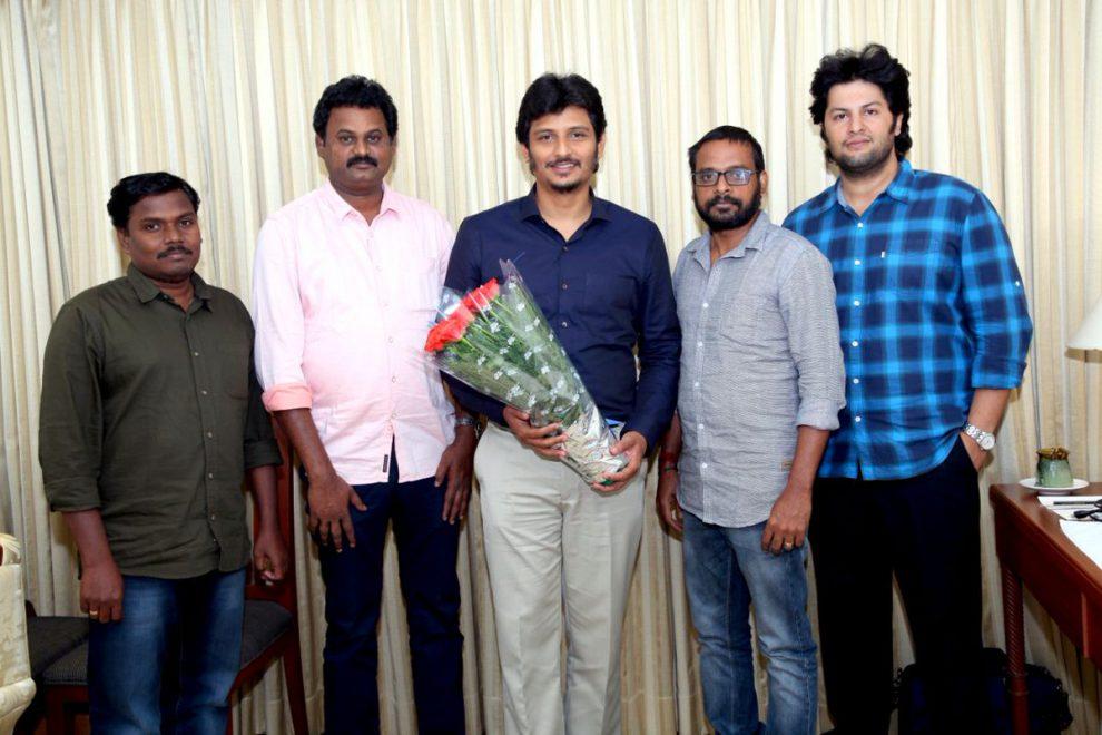 Jiiva teams up with Joker director Raju Murugan for a political satire titled Gypsy.