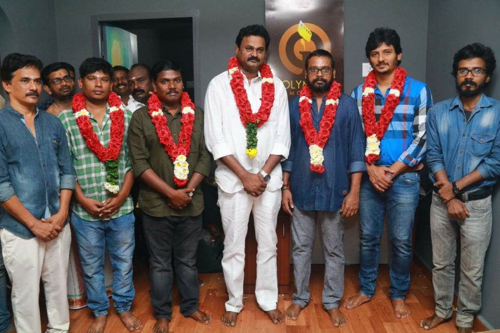 Jiiva's Gypsy movie launched with a pooja.