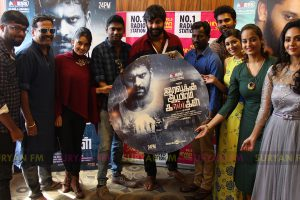 Iravukku Aayiram Kangal audio launch stills.