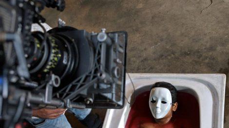 Iravukku Aayiram Kangal video promo shoot.