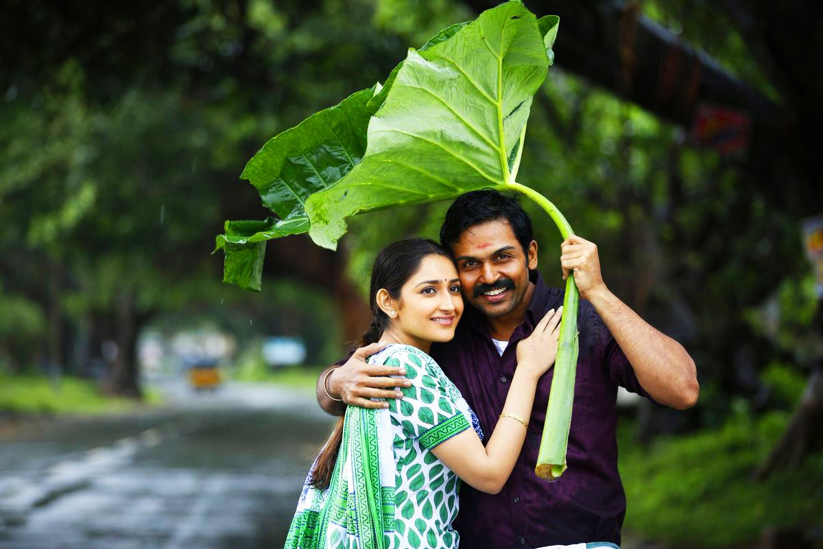 Kadaikutty Singam starring Karthi and Sayyeshaa, directed by Pandiraj