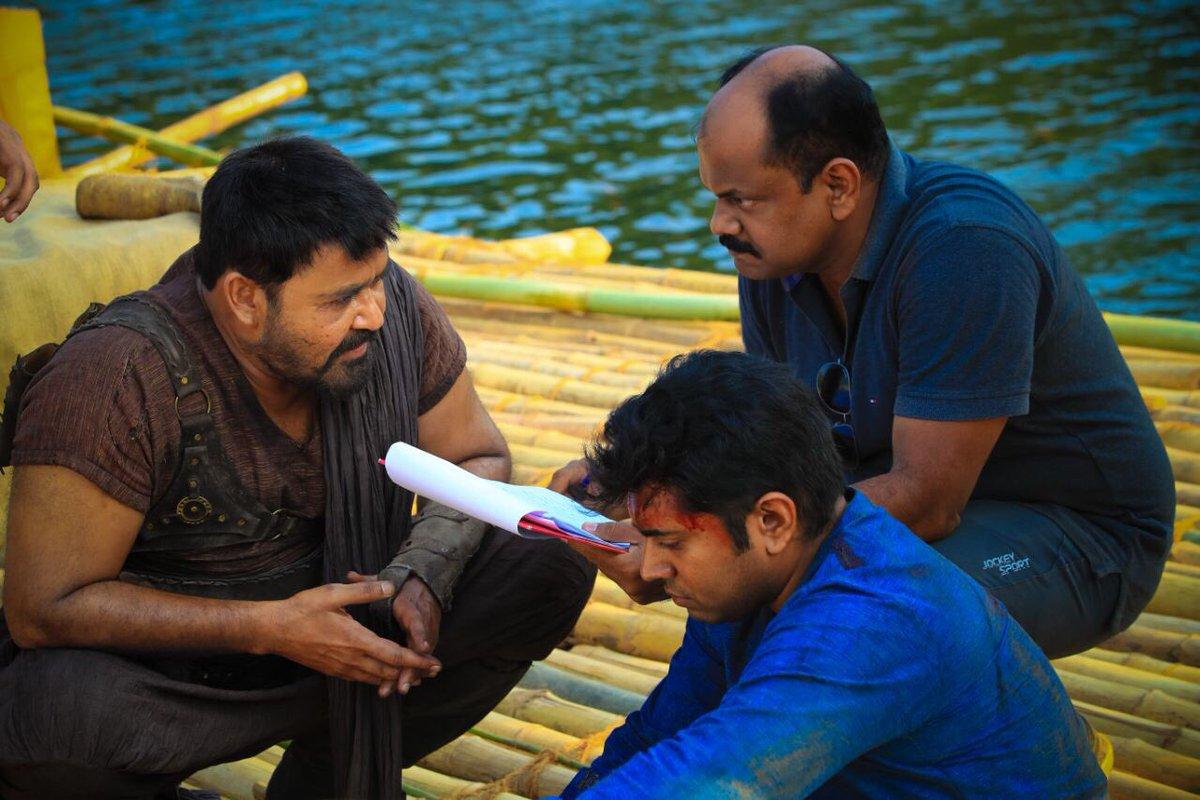 Kayamkulam Kochunni shooting stills.