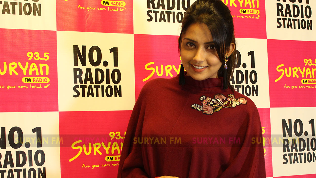 Mahima Nambiar at Iravukku Aayiram Kangal audio launch.
