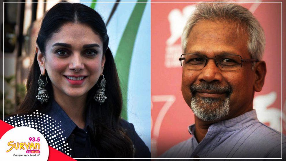 Mani Ratnam and Aditi Rao Hydari team up