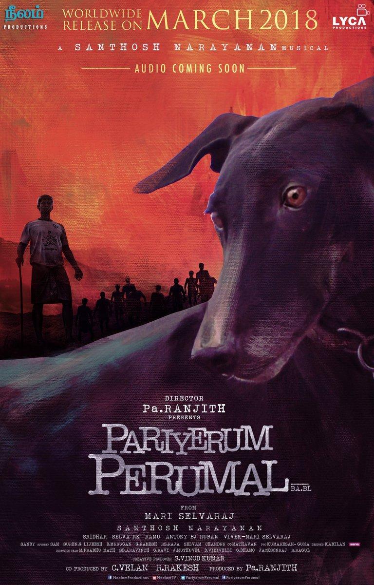 Pariyerum Perumal poster.