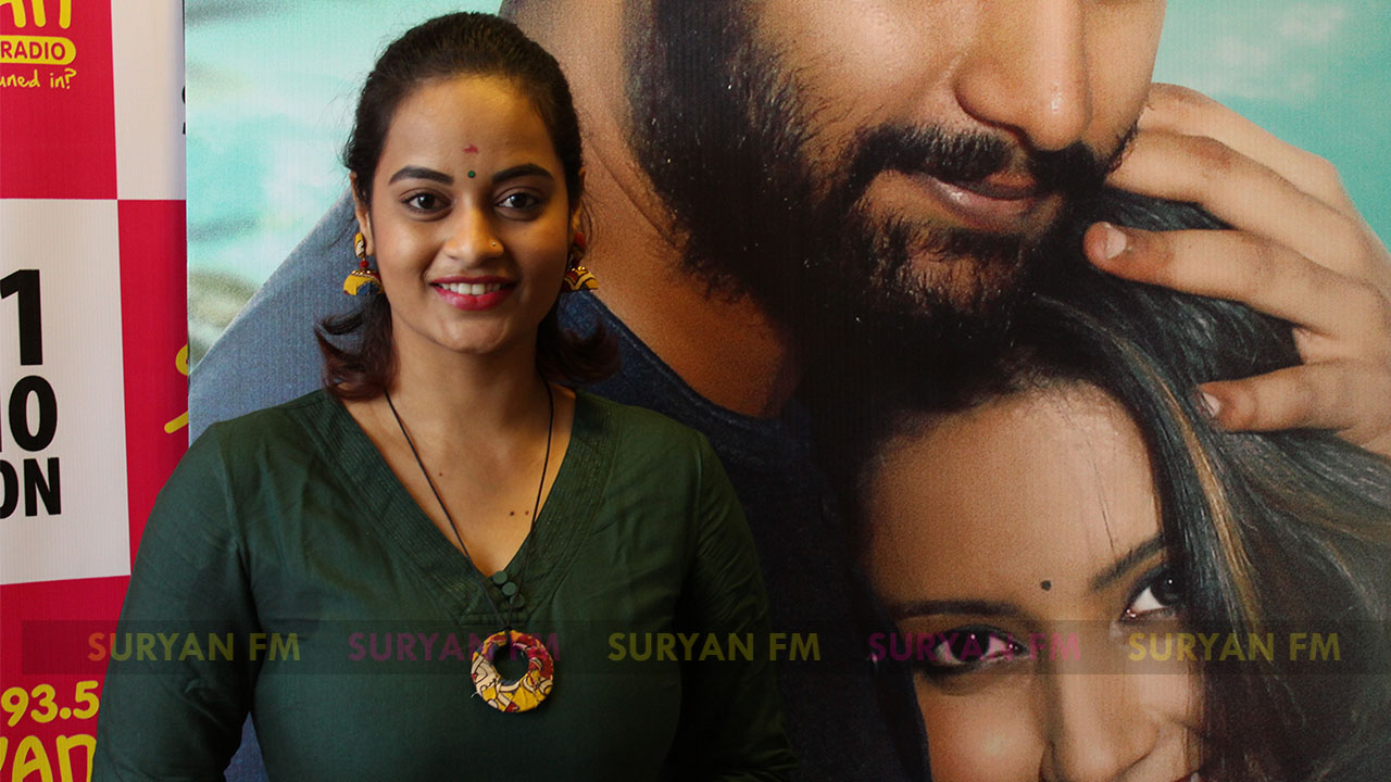 Suja Varunee at Iravukku Aayiram Kangal audio launch