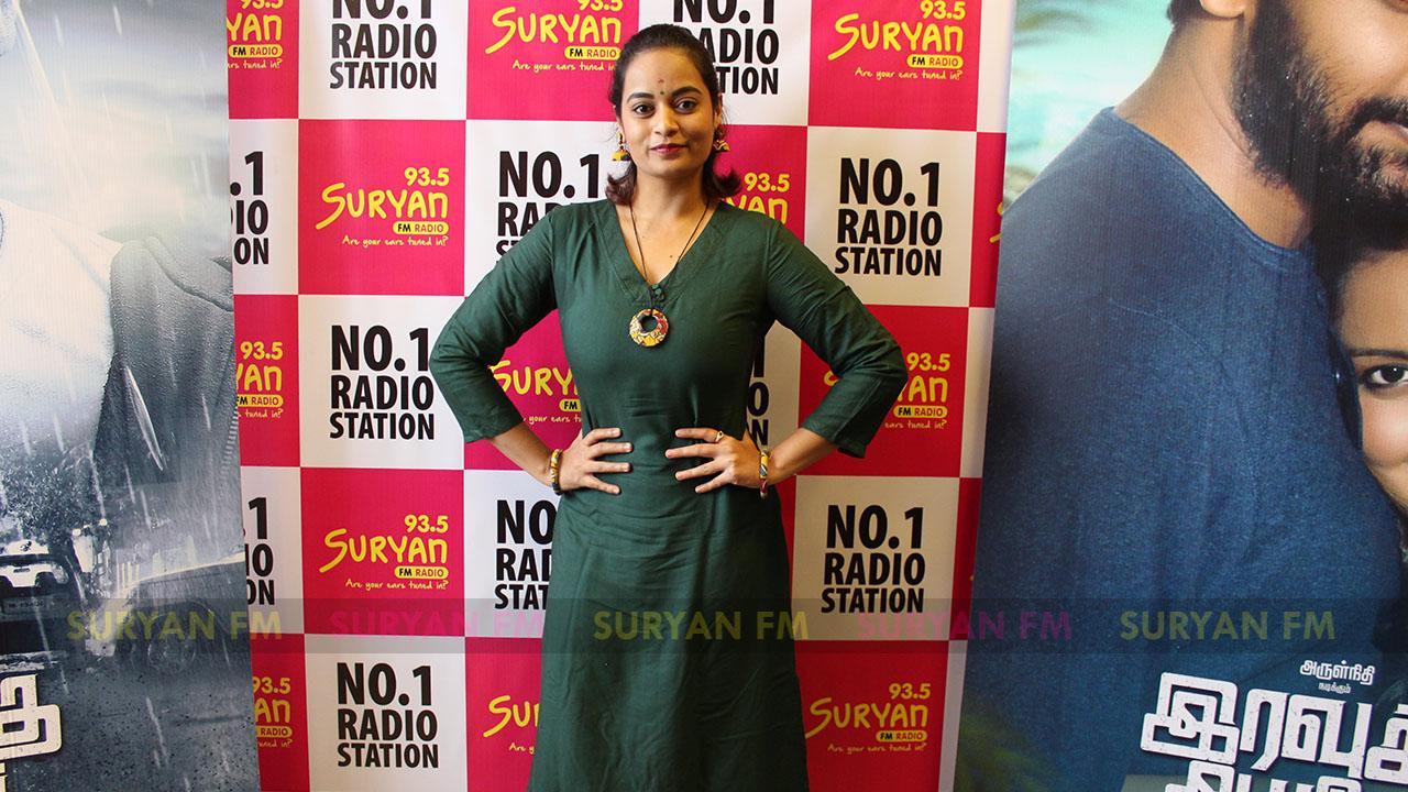 Suja Varunee at Iravukku Aayiram Kangal audio launch
