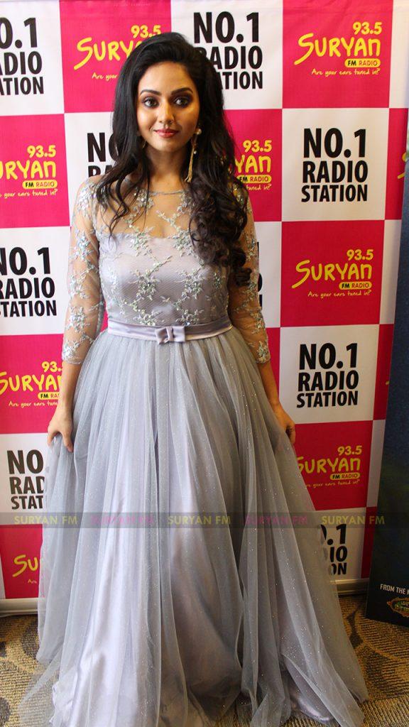 Suja Varunee at Iravukk Aayiram Kangal audio launch.