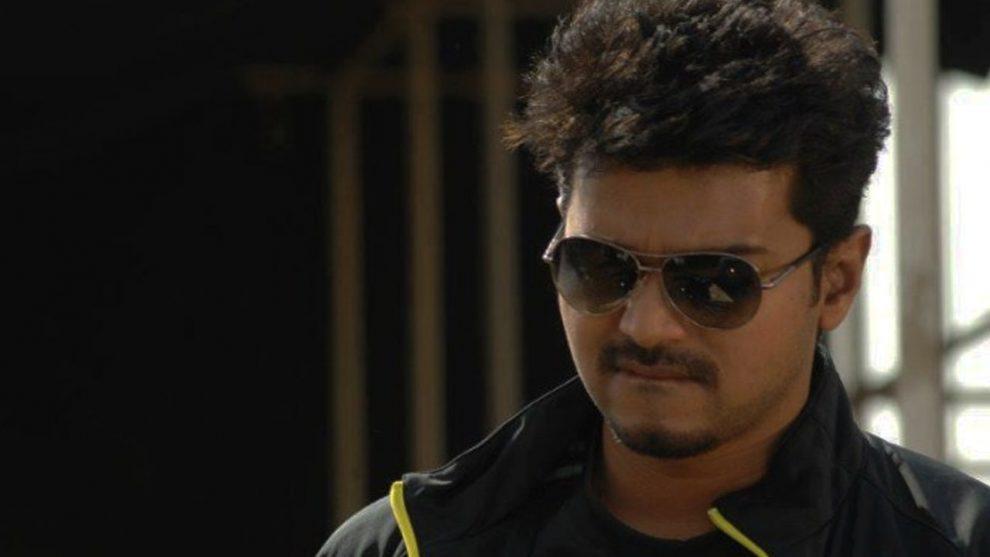 A still from Vijay's Thuppakki movie.