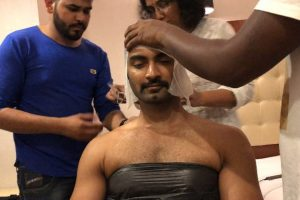 Atharvaa takes up prosthetic makeover for Boomerang.