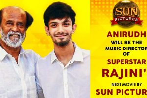 Anirudh Ravichander to compose music for Thalaivar Rajinikanth