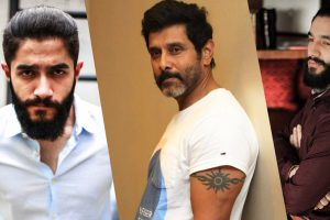 Actor Vikram's nephew Arjuman to make his Kollywood debut | Image source @onlynikil/ Twitter