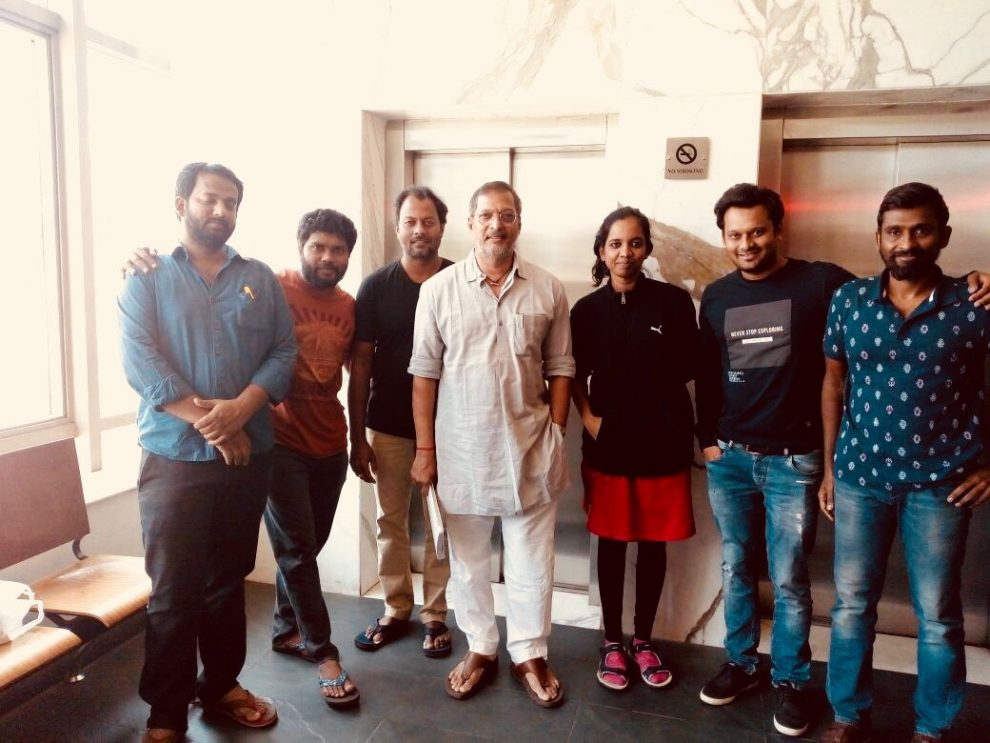 Nana Patekar completes dubbing for Kaala