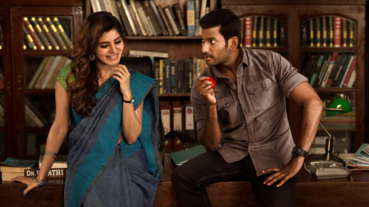 Vishal and Samantha starrer Irumbu Thirai, directed by P.S. Mithran