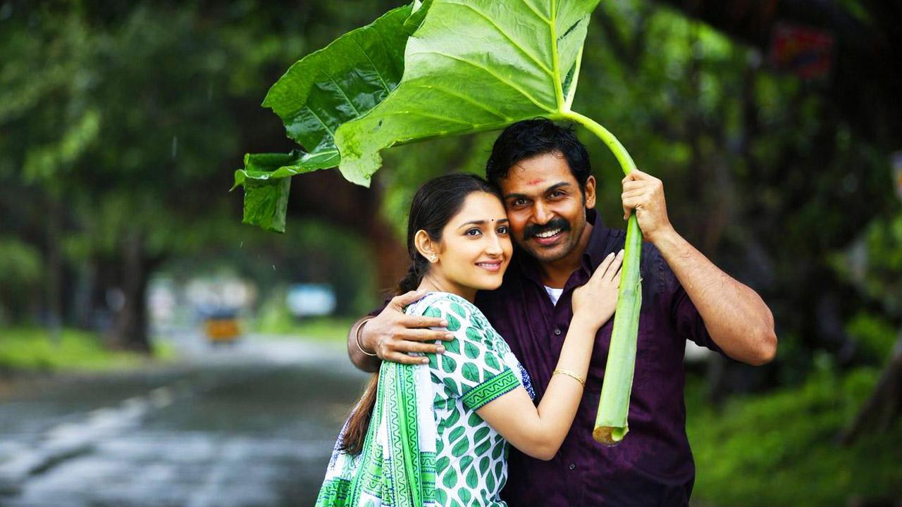 Kadaikutty Singam starring Karthi and Sayyeshaa, directed by Pandiraj