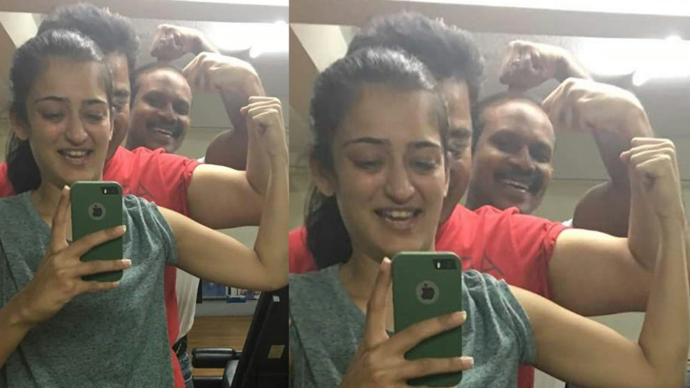 Kamal Haasan's gym picture with Akshara Haasan gives us serious fitness goals.