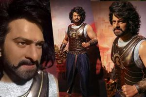 Prabhas' wax status at Madame Tussauds gets maximum attracts maximum visitors.